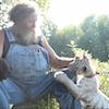 Bob, his beard, and his tiger cub.