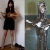 Me, a solemn metal ukuleleist