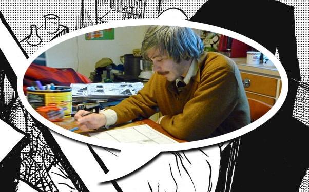 "Ryland Ianelli in ""Cartoon College."""