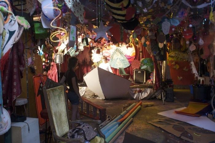 An interior shot of the creative insanity at Rubulad.