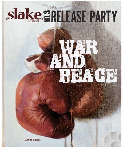 The cover of Slake's second issue.