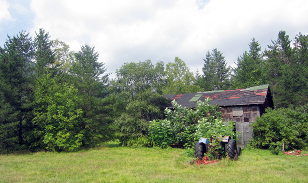 Site of a new artist residency based in New York's Catskills.