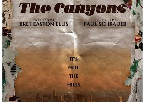 Teaser poster for The Canyons.