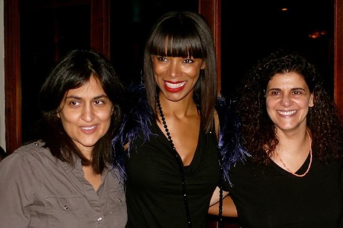 The Super Sandwich:  Shamim, Leonie & Hanan
