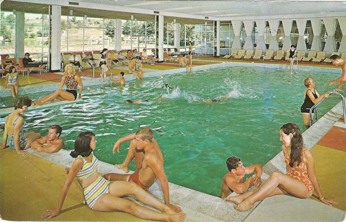 Kutsher's Indoor Pool Postcard
