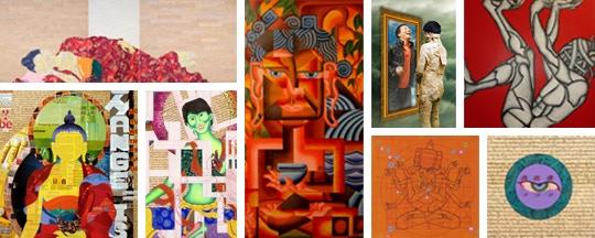 Artworks by Tenzing Rigdol