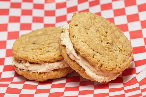Oatmeal Peanut Butter with Whipped Peanut Butter filling - Our best seller