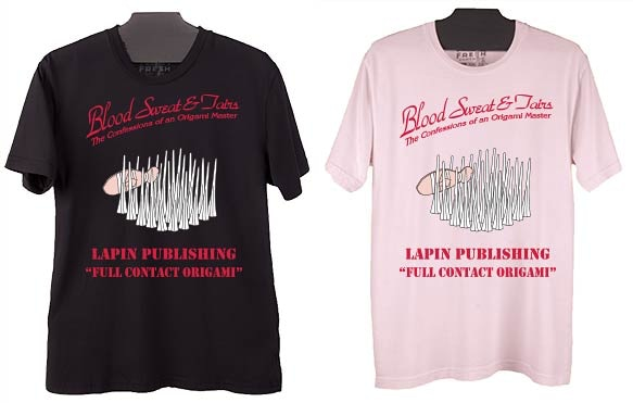 Mock-up of tee shirts to be released in black and baby pink