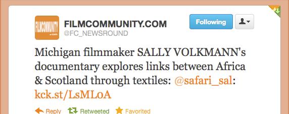 FilmCommunity.com endorsement