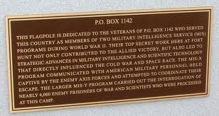 PO BOX 1142 Memorial Marker
