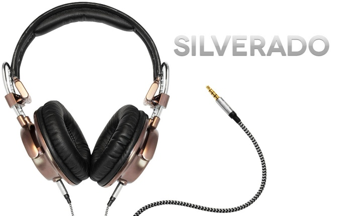 Our most premium over ear headphones. Constructed with die-cast metal and leather, featuring 40 mm drivers, and our Duo-Jack technology to share what you're listening to with your friends.
