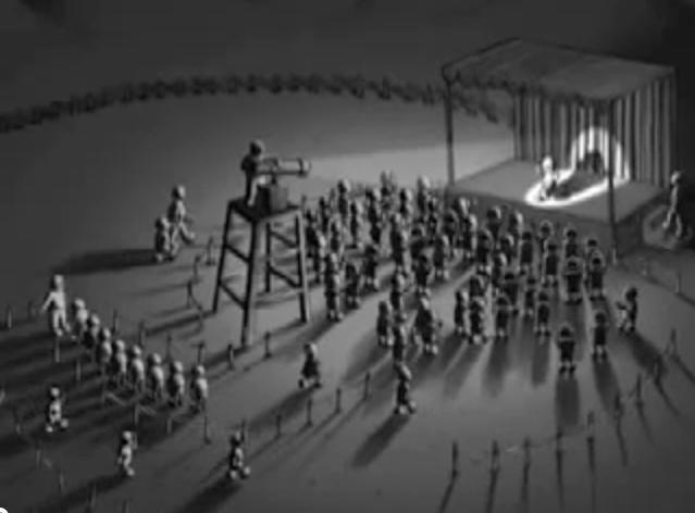 """""""Escenario,"""" 2005, 3 min. animation"""