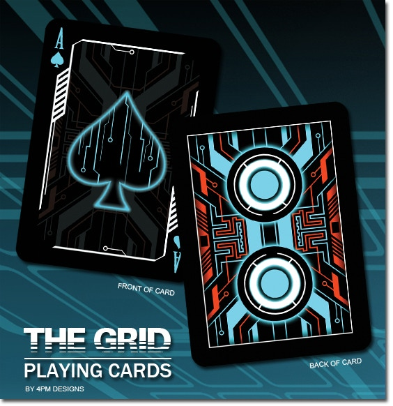the grid a bicycle® playing card deck4pm designs