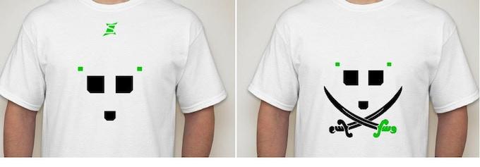 A Couple T-Shirt Design Concepts