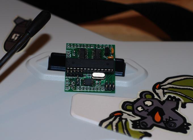 Assembled Prototype Circuit Card