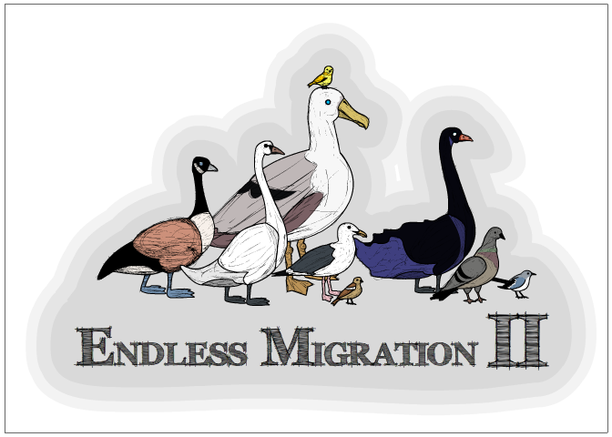 Example Postcard 2: Big Birds