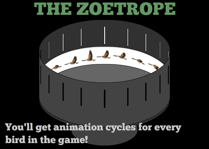 We will build you an Endless Migration 2 Zoetrope!