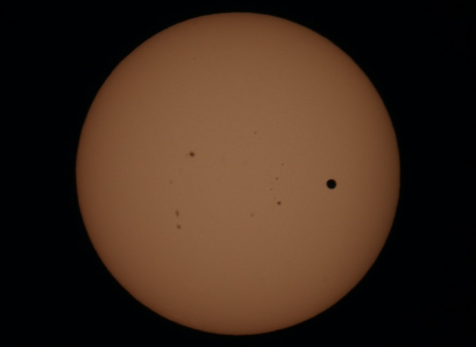 Venus transits the sun on June 5th 2012.
