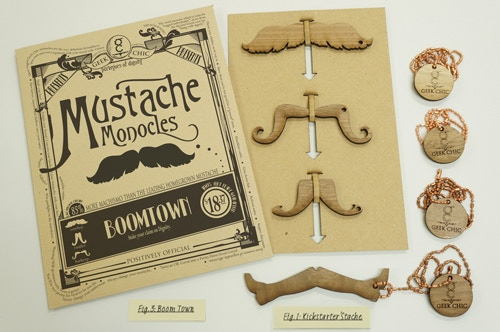 The Boomtown Mustache Package