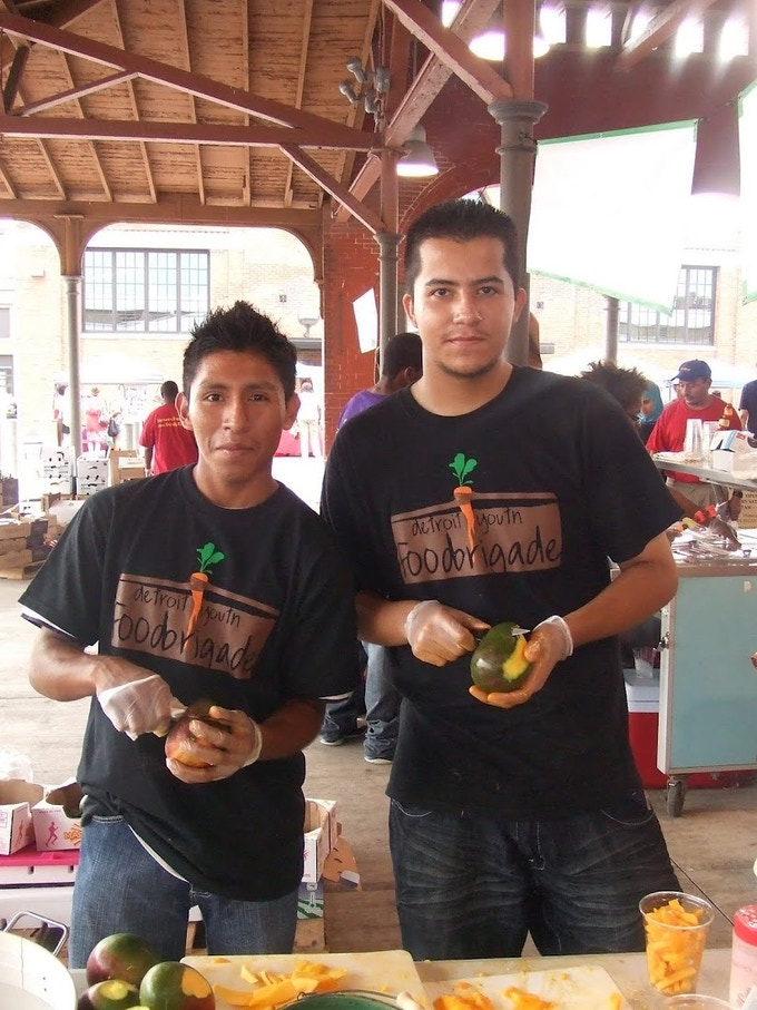 Mangoes del Barrio @ Eastern Market Tuesdays in Summer 2011