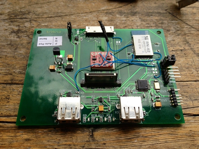 The first printed circuit board