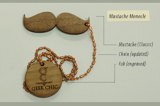 Anatomy of a Mustache Monocle