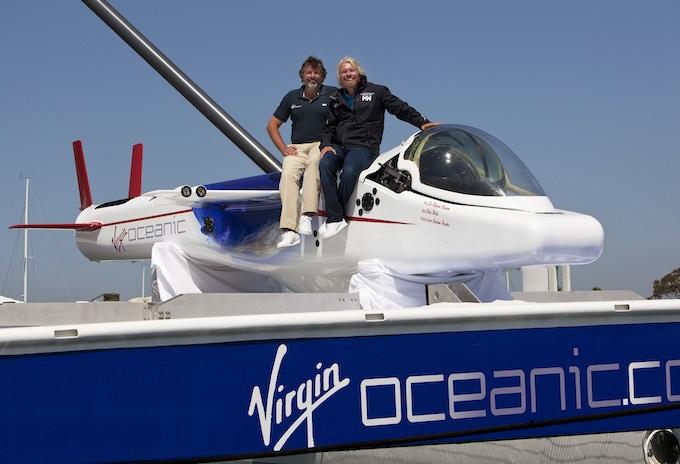 DeepFlight Challenger - Virgin Oceanic submersible (originally designed for Steve Fossett)