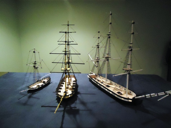 We have a wide range of ship types to build a whole fleet!