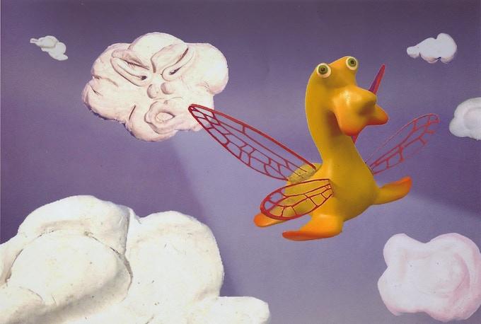 """Slatherpuss"" Print Series: ""Flying Slatherpuss"""