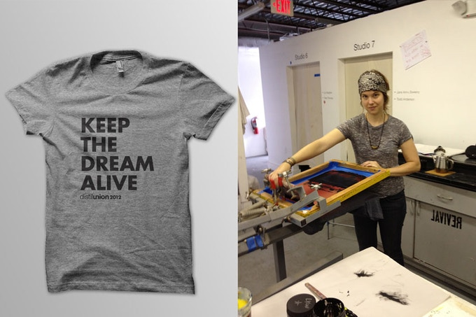 If we reach our goal, we'll be screen-printing on super soft American Apparel tri-blend tees. Add $25 to any pledge total to get one for your body!