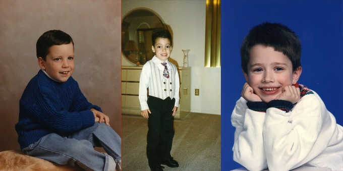 "As Nick says, ""Not everyone is born the same way"" (which is right -- some are born cuter!). You'll meet them in the film as 16-year-old politicians-already-in-training, but here are D.J., Nick & Ben when they were first learning to pose for the camera!"