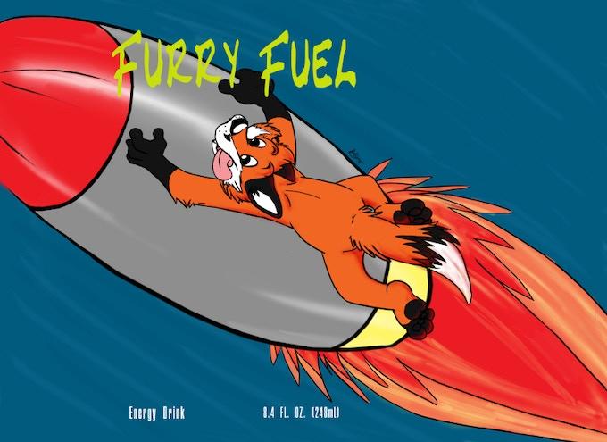 Furry Fuel original artwork