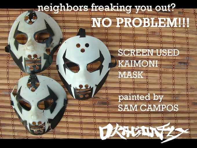 Screen used Kaimoni Masks