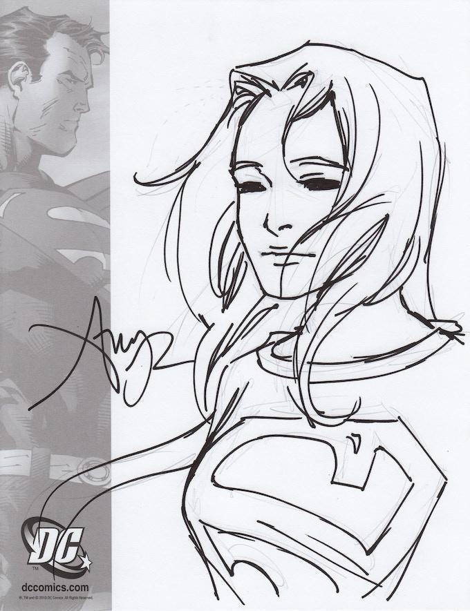 "A sample of Amy's $30 ""Sketch"" reward."
