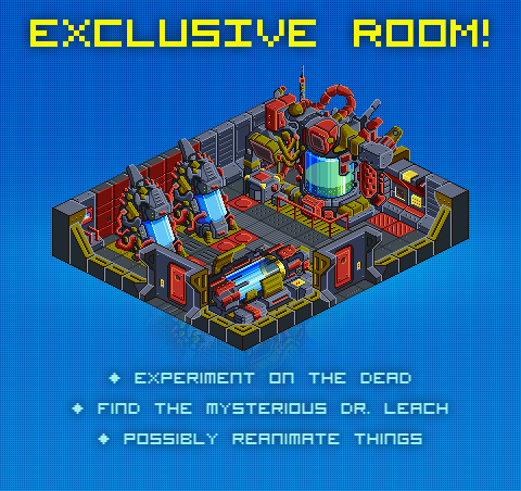 Dr. Leach's Chambers - a room only for kickstarters!