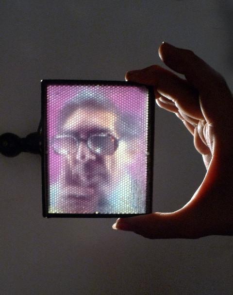 Palmsize Fly's Eye 3D Lightbox