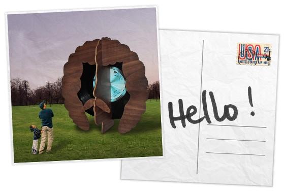Hello Postcard - $10