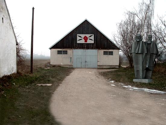 Photoshopped example of location in Soviet Unterzoegersdorf. The original images were taken in Unterzoegersdorf, Austria.