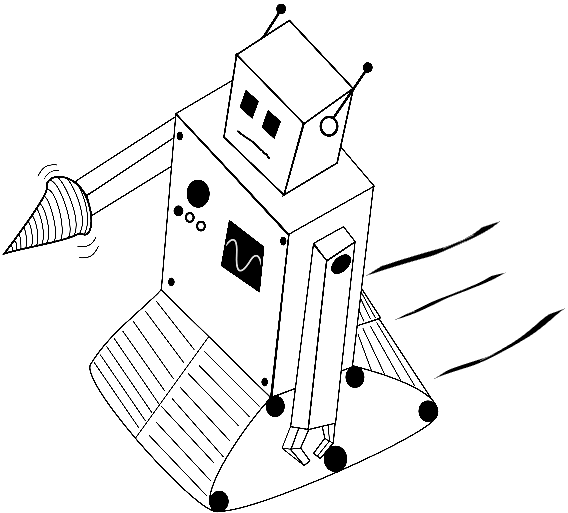 Robotic Minion Artwork by Ben Phipps