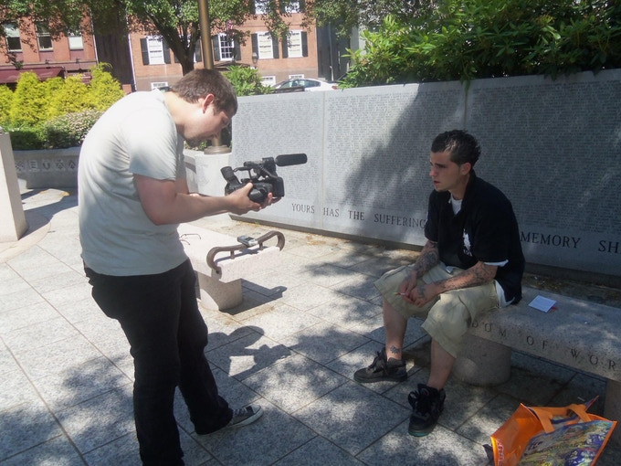 Director Dio Traverso interviews Anthony, a young man struggling to get himself off the streets.