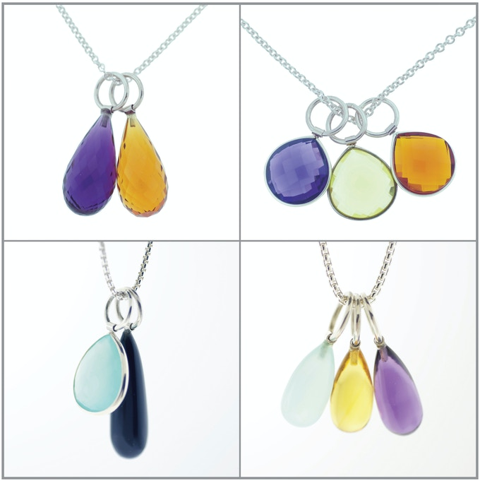 Amoret Necklaces (choose an amoret on a sterling silver chain)
