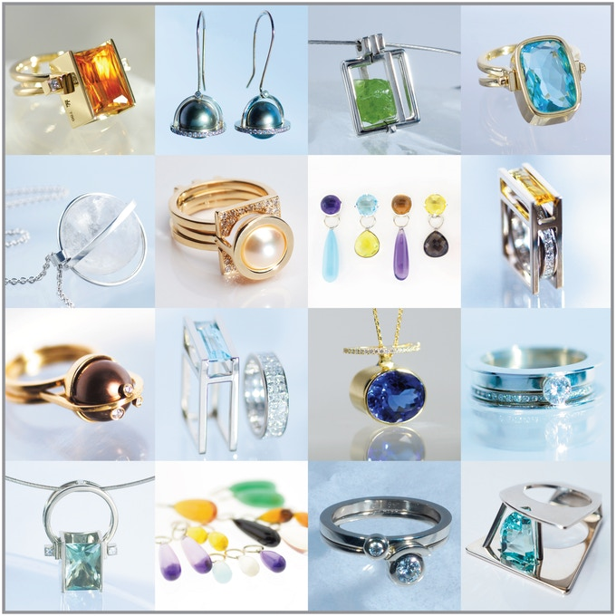 Fine Jewelry Samples, designed and made by Elena