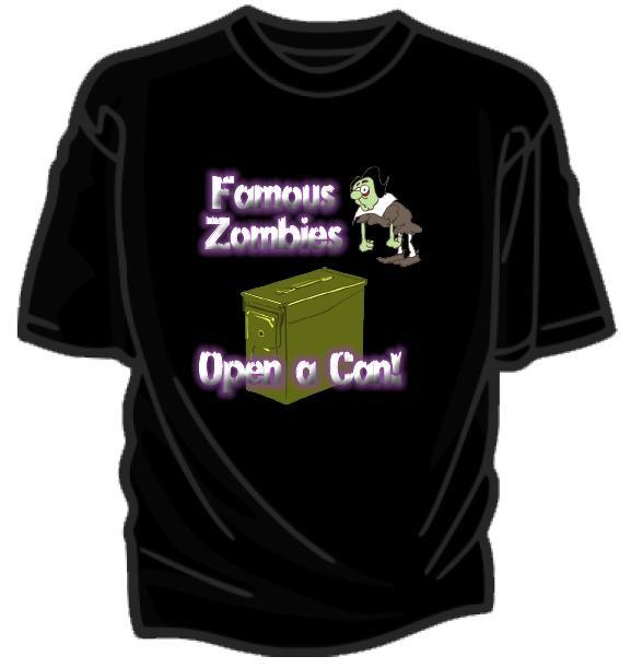 Famous Zombies T-shirt
