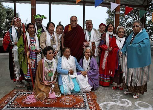 The 13 Grandmothers with the Dalai Lama