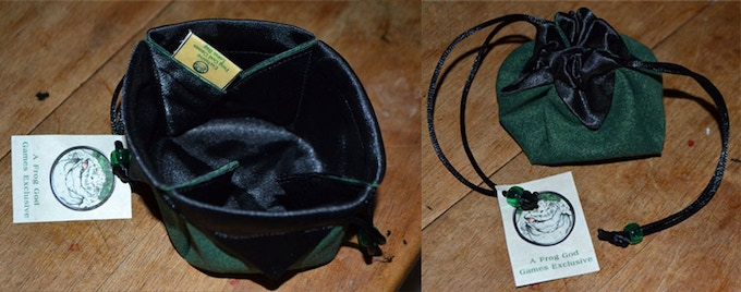 Excludive Lotus Dice Bags. Add $10 to Pledge for these. First 200 who do receive this bag