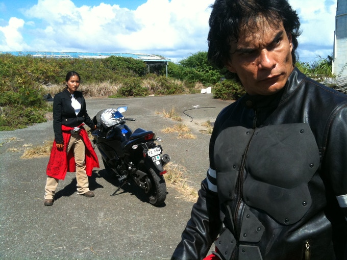 Rae (Alison Kam) and Kamekona (Kekoa Mitchell) on the hunt for monsters that are not afraid to come out in daylight.