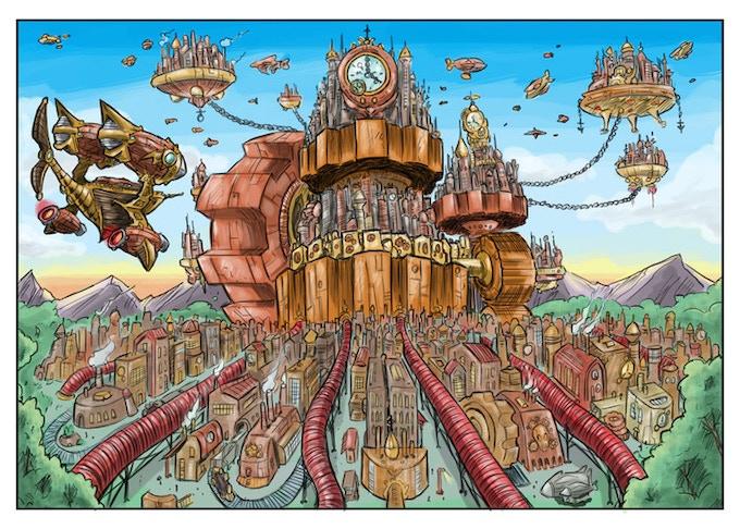 The clockwork city of Veldrif!