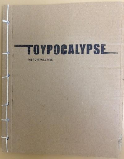 Hand bound copy of Toypocalypse