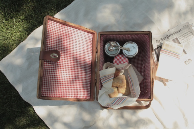 picnic basket from Sweets & Bitters Quarterly #1