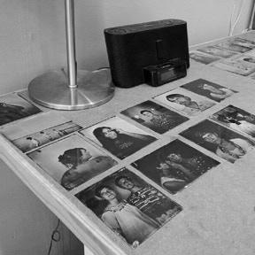 Drying tintypes